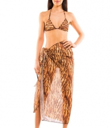 Sara Tan Through beach sarong