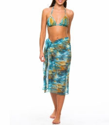 Vesper Tan Through Beach Sarong