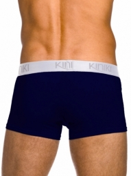 Oxford Hipster Navy Stretch Cotton