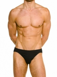 Wonderbrief Black Stretch Cotton