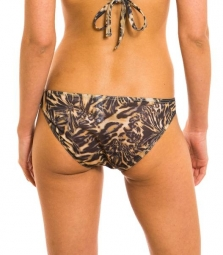 Luanda Tan Through bikini brief