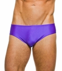 Teddy Purple Swim Brief