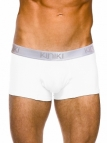 Oxford Hipster White Stretch Cotton