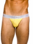 Oxford Thong Lemon Stretch Cotton