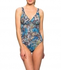 Veneno Tan Through support top swimsuit